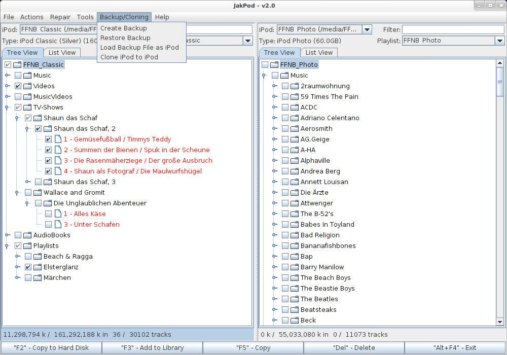 JakPod Screenshots